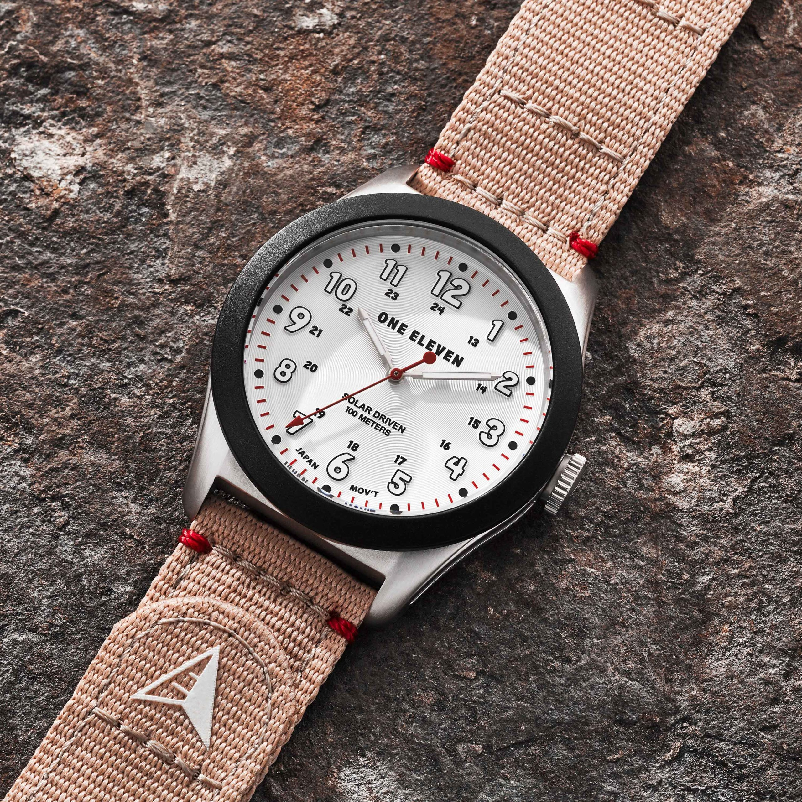 Look No Further for a Stylish, Sustainable Watch – One Eleven Solar Field Watch